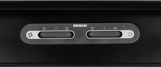 """RP136SS Broan RP1 36"""" Hood with 440 CFM Internal Blower - Stainless Steel"""