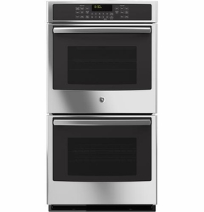 """JK5500SFSS GE 27"""" Built-In Double Convection Wall Oven - Stainless Steel - CLEARANCE"""