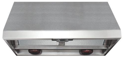 """AP1836W Air King Advantage Professional Series 36"""" Wall Mounted Range Hood with Heat Lamps - Stainless Steel"""