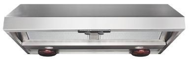 "AP1036W Air King Advantage Professional Series 36"" Wall Mounted Range Hood with Heat Lamps - Stainless Steel"