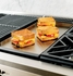 "ZGU364NDPSS Monogram 36"" Pro Style Gas Cooktop with 4 Burners and Griddle - Natural Gas - Stainless Steel"