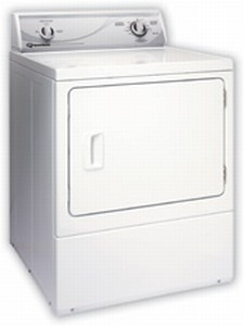 ADG30R Speed Queen Rear Control Gas Dryer - 3 Cycles - White