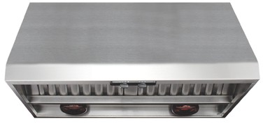"""P1836W Air King 36"""" Professional Range Hood with Heat Lamps - Stainless Steel"""
