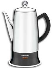PRC-12 Cuisinart 12-Cup Percolator with Detachable Cord