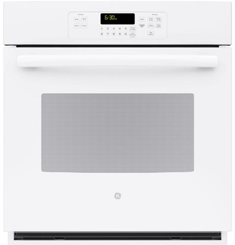"""JK3000DFWW GE 27"""" Built-In Single Wall Oven - White"""