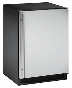 CLRCO2175S-00 U-Line 2000 Series Undercounter Clear Icemaker & Refrigerator Right Hinge - Stainless Steel