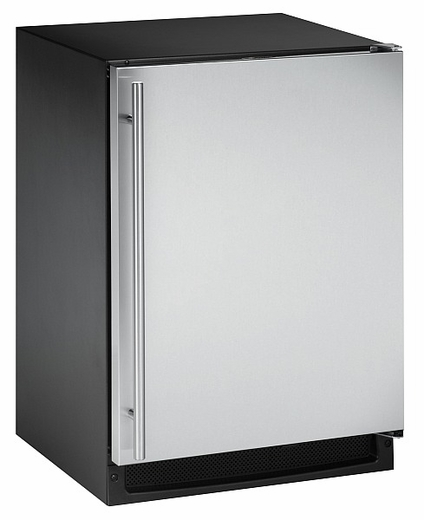 CLRCO2175S-01 U-Line 2000 Series Undercounter Clear Icemaker & Refrigerator Left Hinge - Stainless Steel