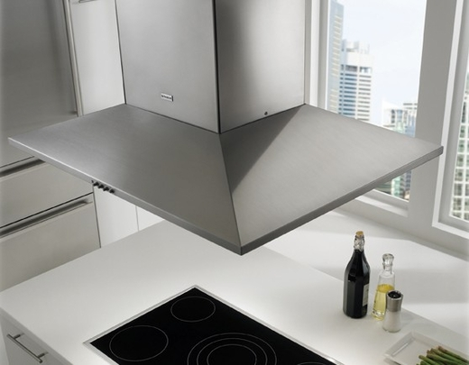 "DAMIS36SS300 Faber Decorative Collection 36"" Dama Isola 300 CFM Island Hood - Stainless Steel"
