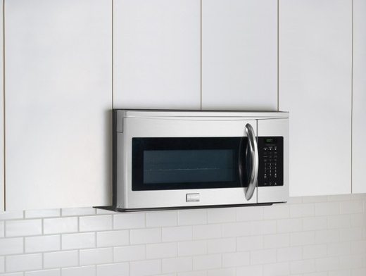 FGMV154CLF Frigidaire Gallery 1.5 Cu. Ft. Over-The-Range Microwave with Convection - Smudge-Proof Stainless Steel