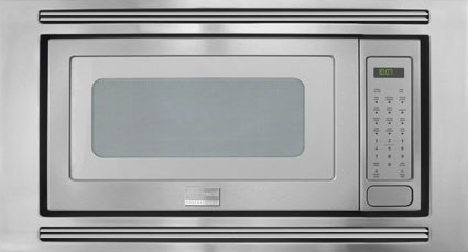 Frigidaire Professional 2 0 Cu Ft Built In Microwave Smudge 30 Stainless Steel