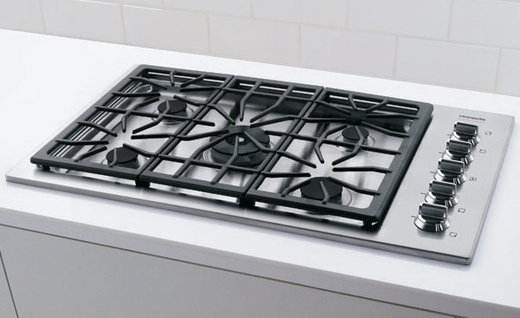 """FPGC3685KS Frigidaire Professional 36"""" Gas Drop-In Cooktop - Stainless Steel"""