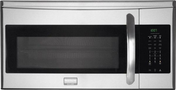 Fgmv154clf Frigidaire Gallery 1 5 Cu Ft Over The Range Microwave With Convection