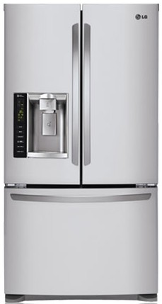 LFX25974ST LG Energy Star 24.7 Cu. Ft. French Door Refrigerator - Stainless Steel