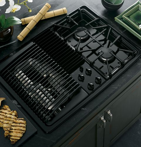 Best Electric Cooktops With Grill ~ Pgp denbb ge profile