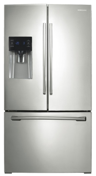 RF263BEAESR Samsung 26 Cu.ft. French Door Refrigerator With External Water  U0026 Ice Dispenser
