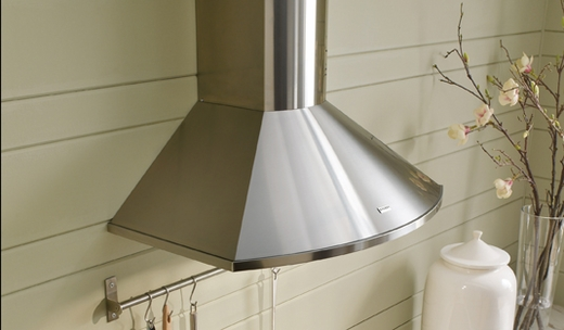 "TEND36SS300 Faber Decorative Collection 36"" Tender 300 CFM Wall Hood - Stainless Steel"