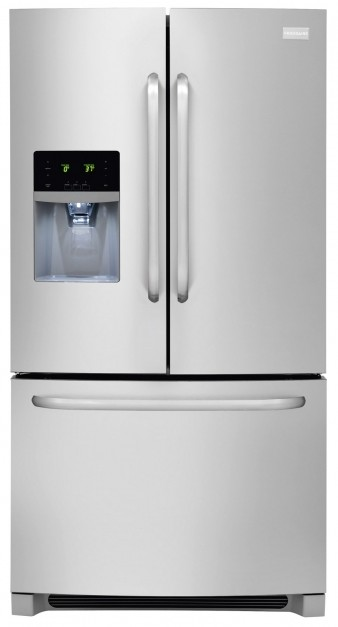FFHB2740PS Frigidaire 26.7 Cu. Ft. Standard Depth French Door Refrigerator    Stainless Steel