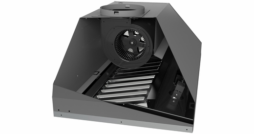 """AK9228AS Zephyr Monsoon I 28"""" 600CFM One-Piece Insert - Stainless Steel"""