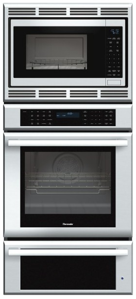 Medmcw71js Thermador 27 Inch Masterpiece Series Triple Oven Convection Microwave And Warming