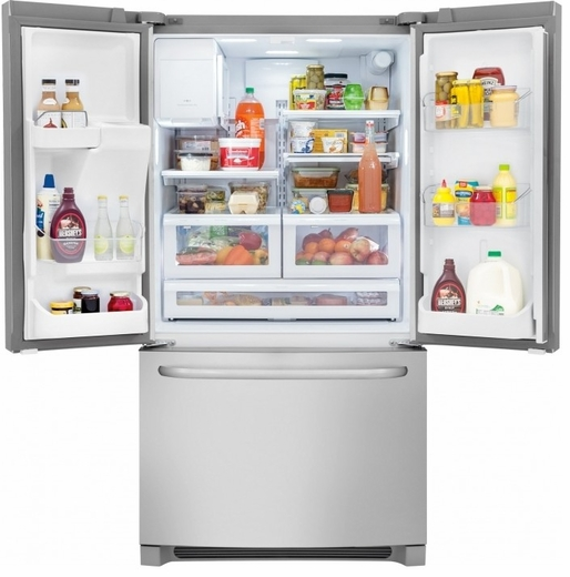 FFHB2740PS Frigidaire 26.7 Cu. Ft. Standard Depth French Door Refrigerator - Stainless Steel