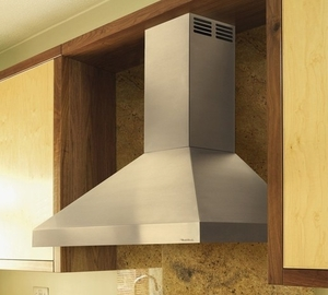 "PDAH14-K42 Vent-A-Hood ARS Series 42"" Wall Mount Hood with Internal 250 CFM Blower - Stainless Steel"