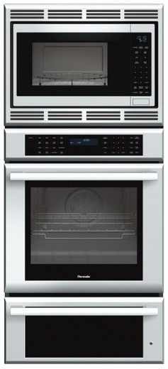 MEDMCW71JS Thermador 27 inch Masterpiece Series Triple Oven (Oven, Convection Microwave and Warming Drawer) - Stainless Steel