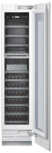"T18IW800SP Thermador 18"" Built-In Wine Preservation Column - Custom Panel"
