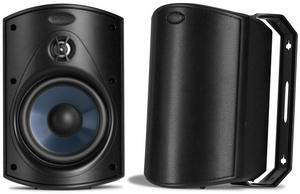 ATRIUM4 Polk Audio All Weather Outdoor Loudspeakers (Pair) - Black