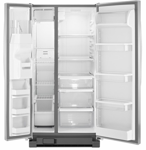 Wrs342fiam Whirlpool 22 Cu Ft Side By Side Refrigerator