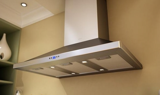 """ZVE-E36BS Zephyr 36"""" Venezia Wall Mount Hood with 715 CFM Blower - Stainless Steel"""