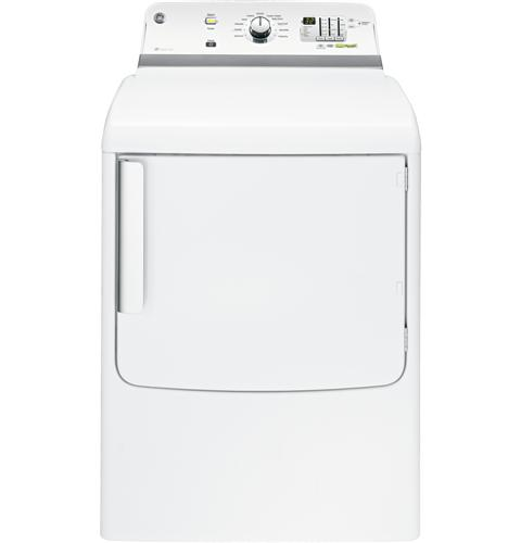 GTDL740EDWW GE 7.8 cu. ft. Capacity Electric Dryer with 150 ft. Long Venting - White