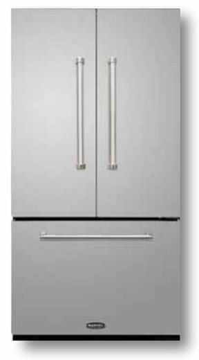 AMPROFD20SS AGA Marvel Professional Series Counter Depth French Door Refrigerator - Stainless Steel