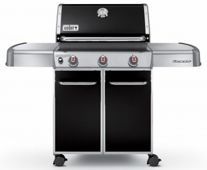 6611001 Weber Genesis E-310 Natural Gas Grill - Black