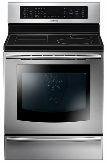NE597N0PBSR Samsung 5.9 cu. ft. Freestanding Full Induction Range with True Convection - Stainless Steel