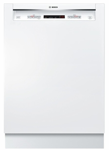 "SHE53T52UC Bosch 300 Series 24"" Recessed Handle Dishwasher - White"