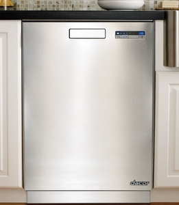 "DDW24S Dacor 24"" Heritage Collection Dishwasher with EasyLoad Racks and EcoDry Option - PrintFree Fingerprint Resistant Stainless Steel"