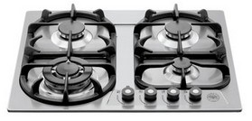 "V24400X Bertazzoni Professional Series 24"" Cooktop 4-Burner - Stainless Steel"