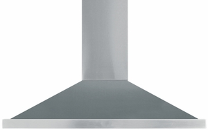 "AMCHD44SS AGA 44"" Wall Mount Vent Hood with Halogen Lighting and Adjustable Duct Covers - 600 CFM - Stainless Steel"