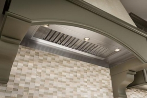 PK2245 Best Celato Built-in Range Hood with IQ1200 Dual Blower System, 1100 CFM - Stainless Steel