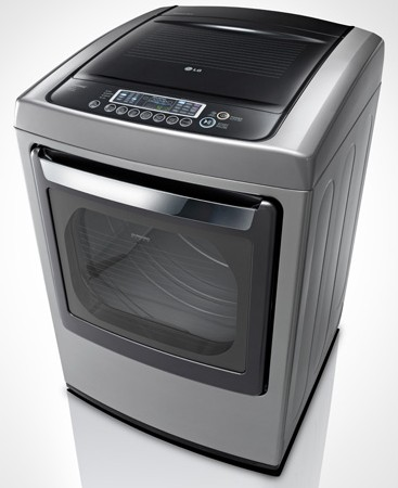 dley1201v lg 73 cu ft ultra large capacity electric dryer with front control design and steamfresh cycle graphite steel