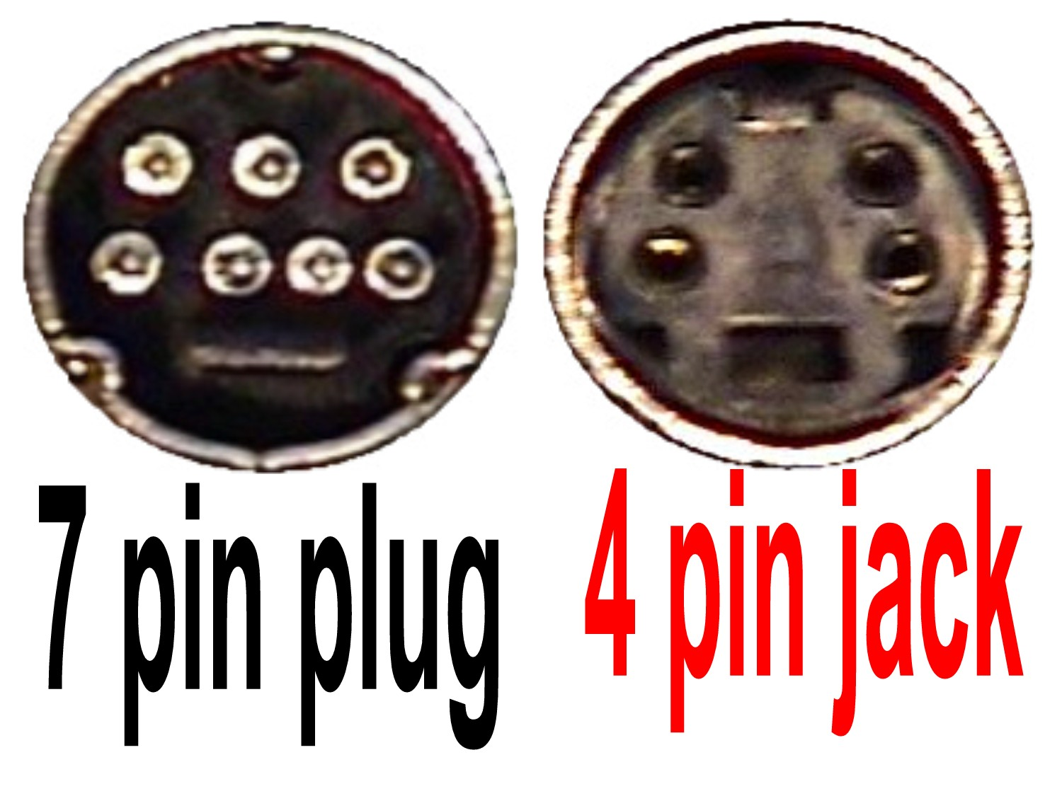 7 Pin For S Video TV Out Convertor