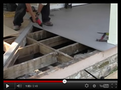 Porch Deck Installation Videos