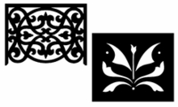 Fretwork Panels & Medallion Product Listings