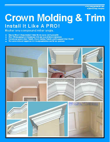 Crown Moulding Amp Trim Book Diy Crown Moulding Installation