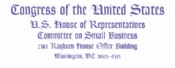 Invitation to testify at a hearing of the U.S. House of Representatives