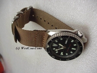 Maratac&trade; Zulu&reg; Military Strap<br/>TWO PIECE for Spring Bars