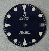 Genuine TUDOR Submariner dial - NOS - lady sub