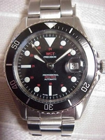 WCT Ollech & Wajs 200 meter WITH DATE Precision diver Mil style sub