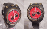 Sorna Jacky Ickx chronograph - pin lever