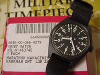 RED Box Watch US Military Issue - collectible